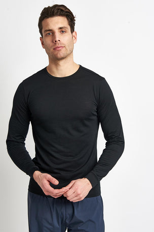 Ashmei Men's Long Sleeve Base Layer Top - Black image 1 - The Sports Edit
