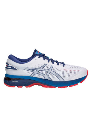 ASICS Gel Kayano 25 - White/Blue Print image 1 - The Sports Edit