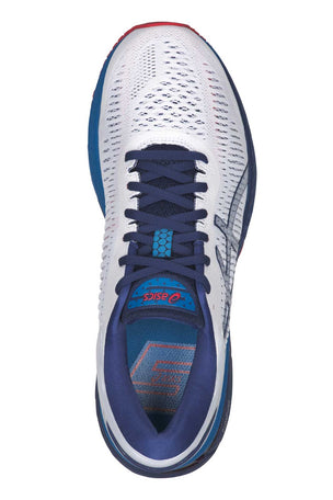ASICS Gel Kayano 25 - White/Blue Print image 4 - The Sports Edit