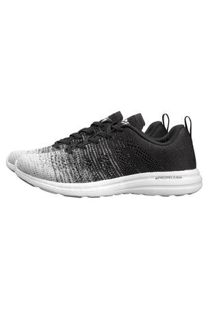 APL Techloom Pro - White Heather Grey Black Melange | Women's image 4 - The Sports Edit