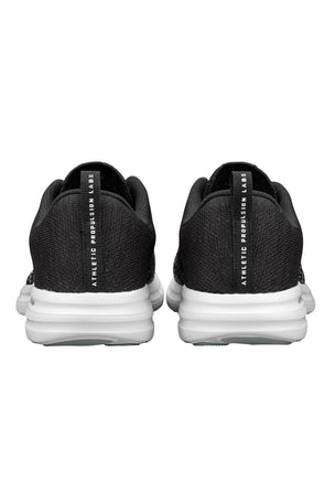 APL Techloom Pro - White Heather Grey Black Melange | Women's image 5 - The Sports Edit