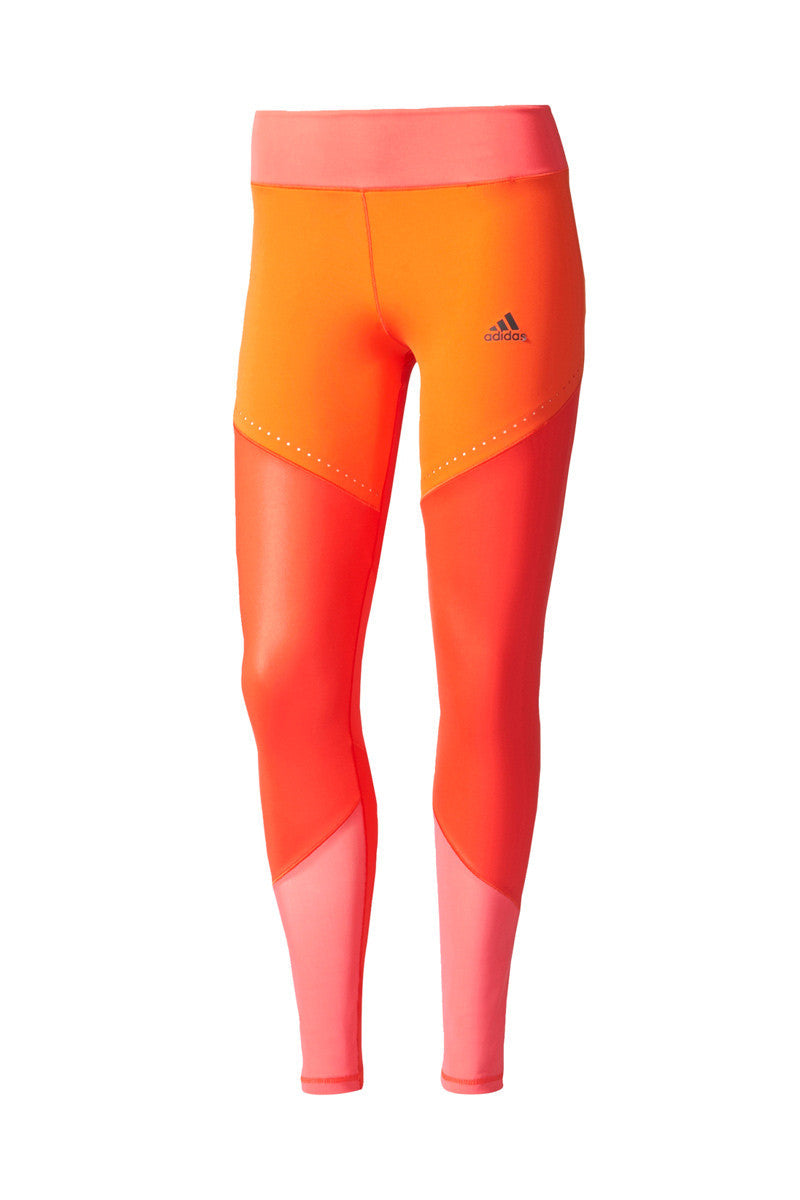 ADIDAS WOW Ultimate Long Tights - CORE RED/PINK image 5 - The Sports Edit