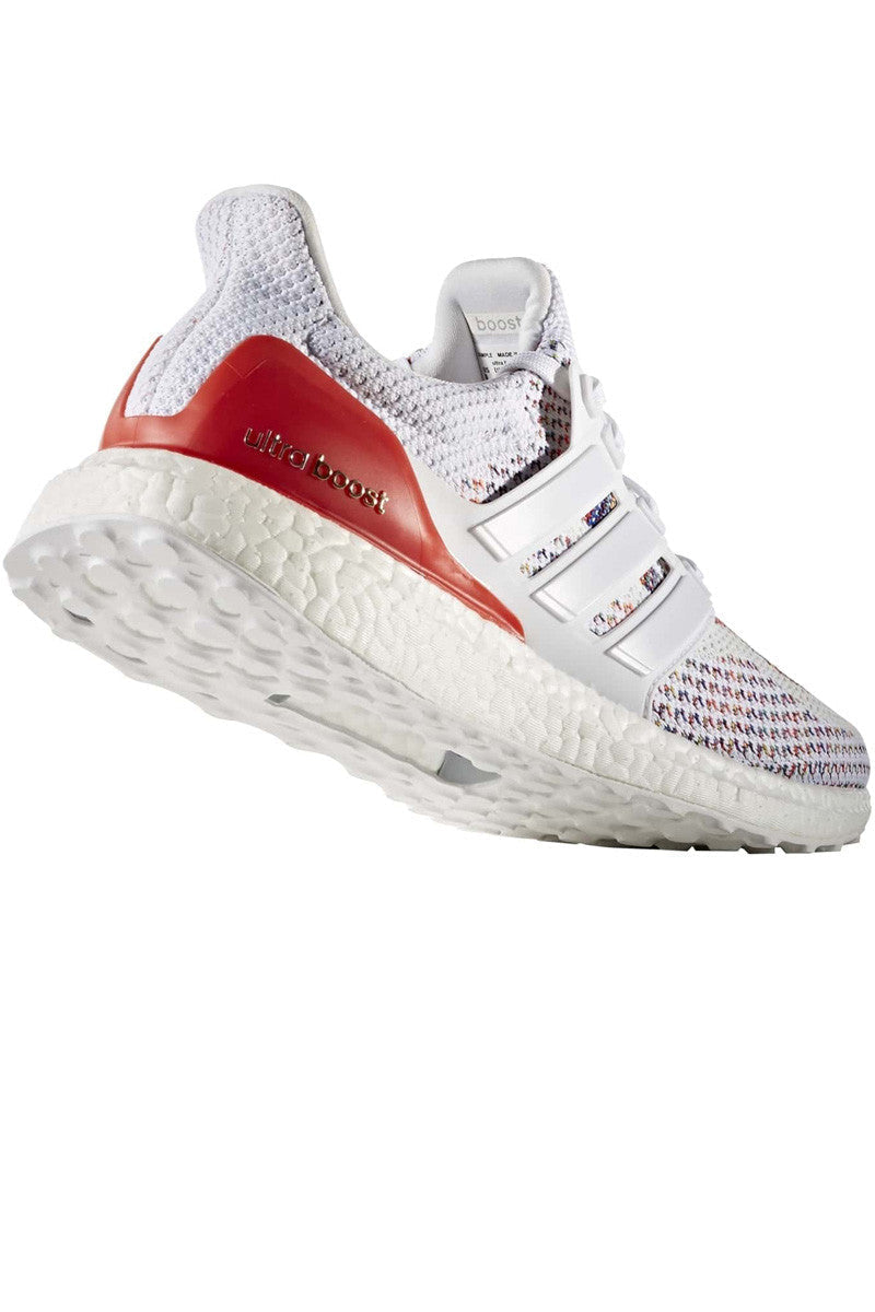 ADIDAS Ultra Boost Red/White - Men's image 3 - The Sports Edit