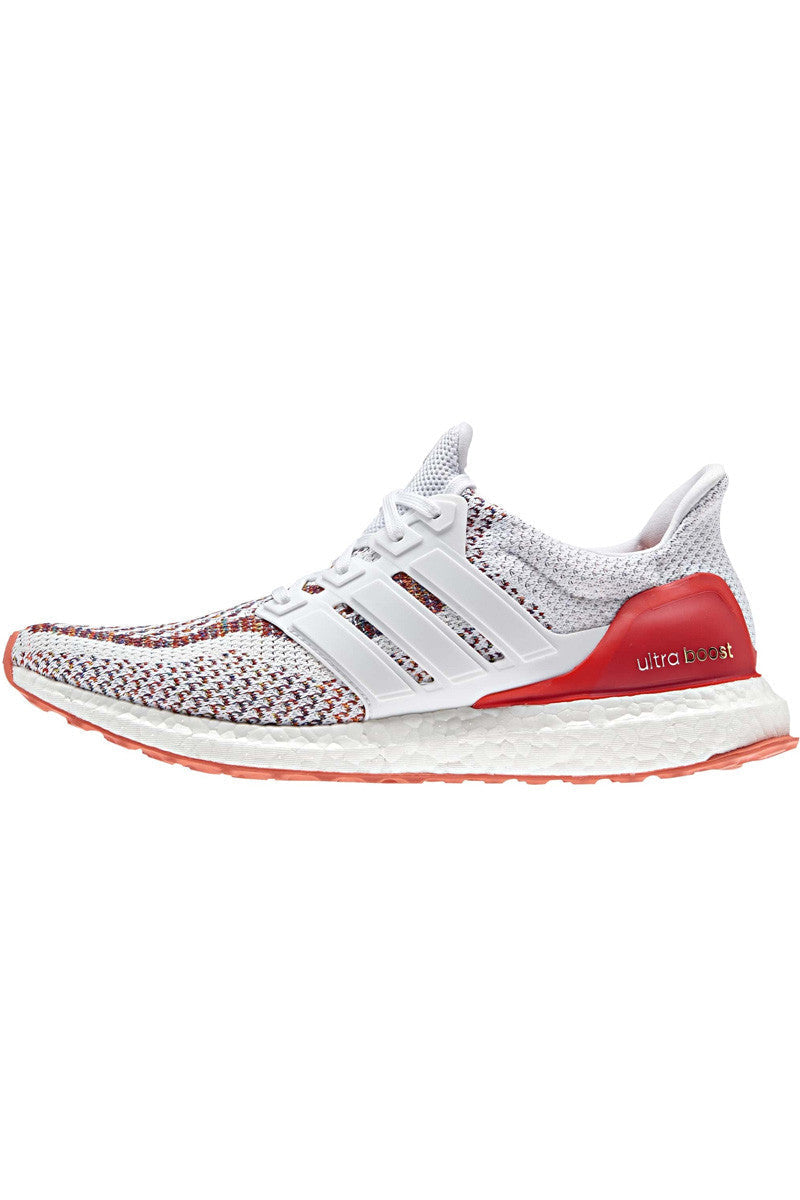 ADIDAS Ultra Boost Red/White - Men's image 2 - The Sports Edit