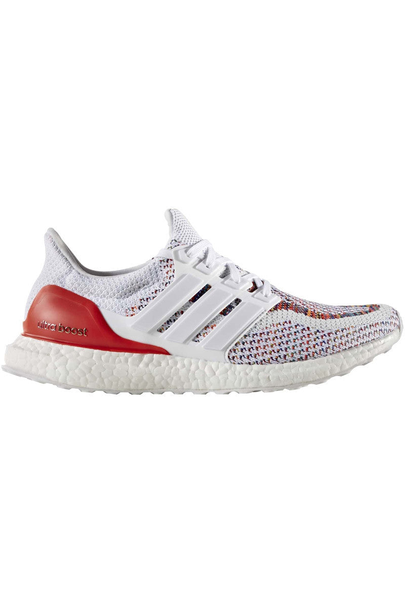 ADIDAS Ultra Boost Red/White - Men's image 1 - The Sports Edit