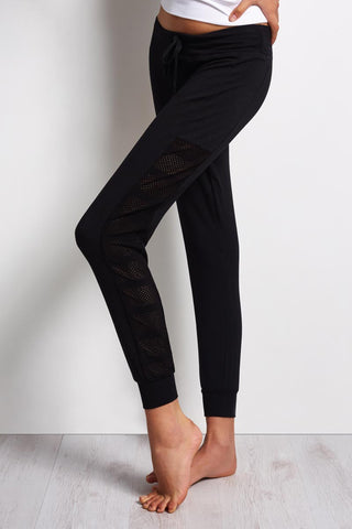 Beyond Yoga Seam You Later Sweatpant - Black image 1 - The Sports Edit