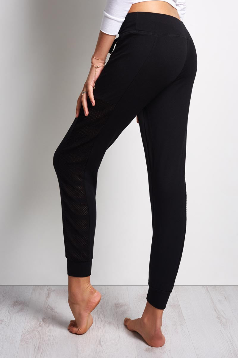 Beyond Yoga Seam You Later Sweatpant - Black image 3 - The Sports Edit