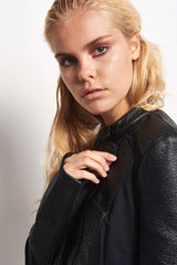 Blanc Noir Ryder Moto Jacket image 3 - The Sports Edit