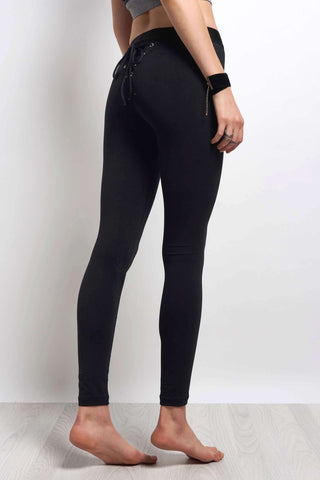 Blue Life Fit Cheeky Legging Jet Black image 1 - The Sports Edit