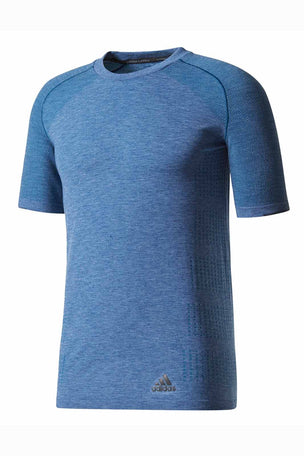ADIDAS Primeknit Wool Tee - Blue Night image 5 - The Sports Edit