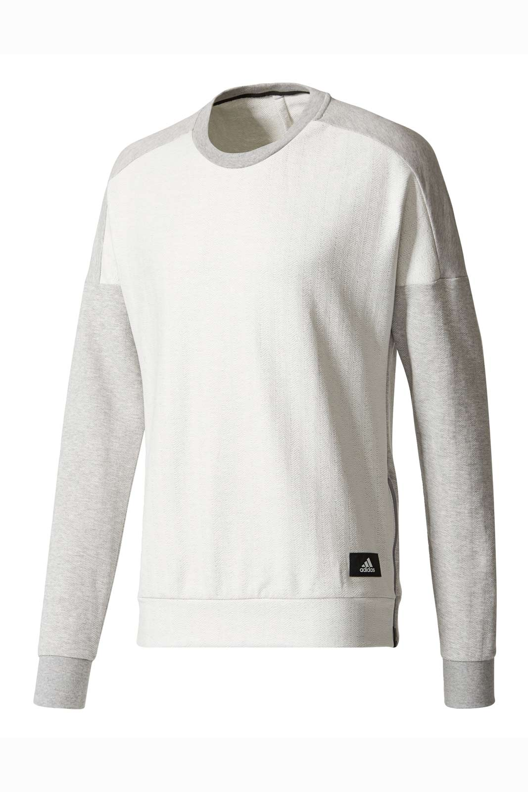 ADIDAS Athletics Crewneck Sweatshirt | Grey image 5 - The Sports Edit