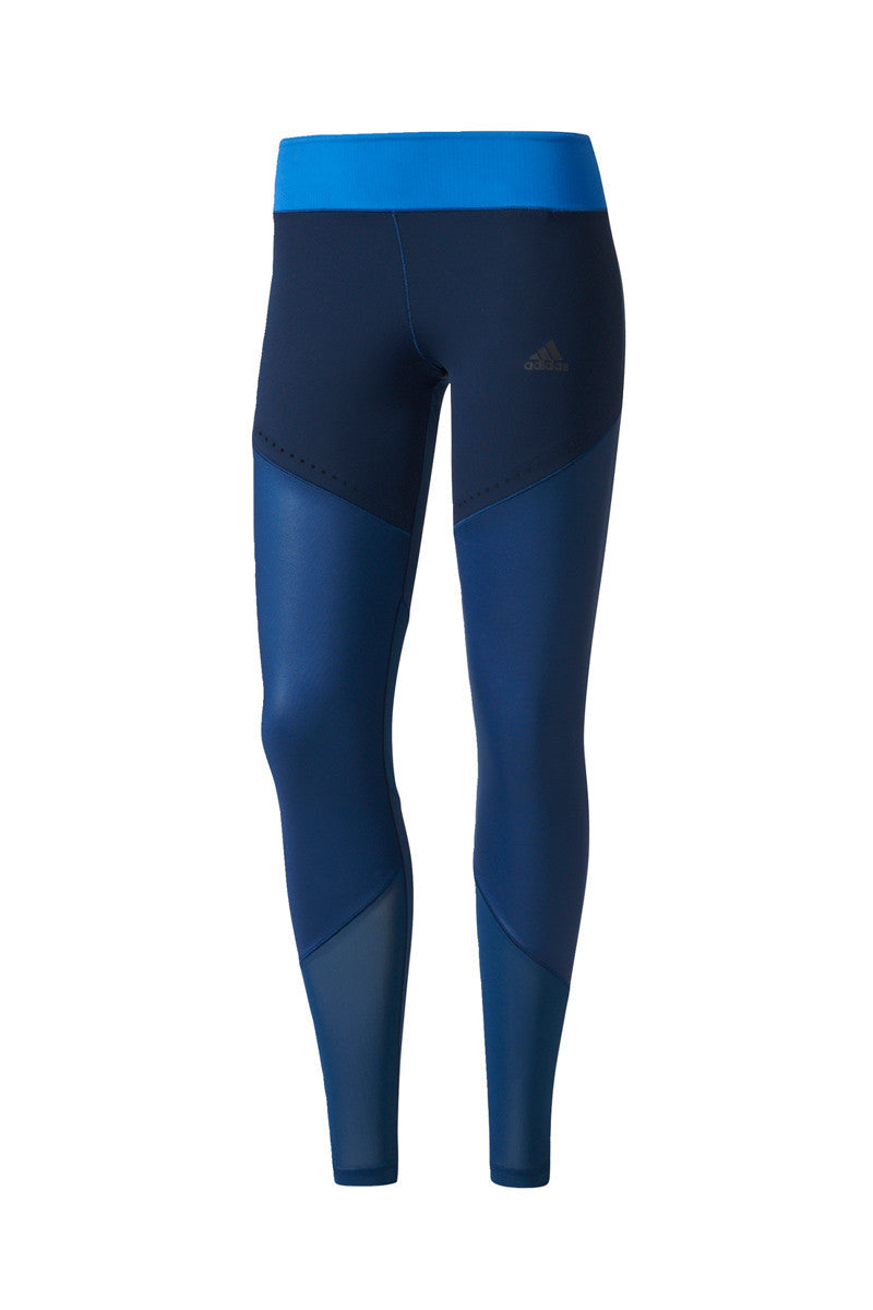 ADIDAS Ultimate Long Tights – Mystery Blue image 5 - The Sports Edit
