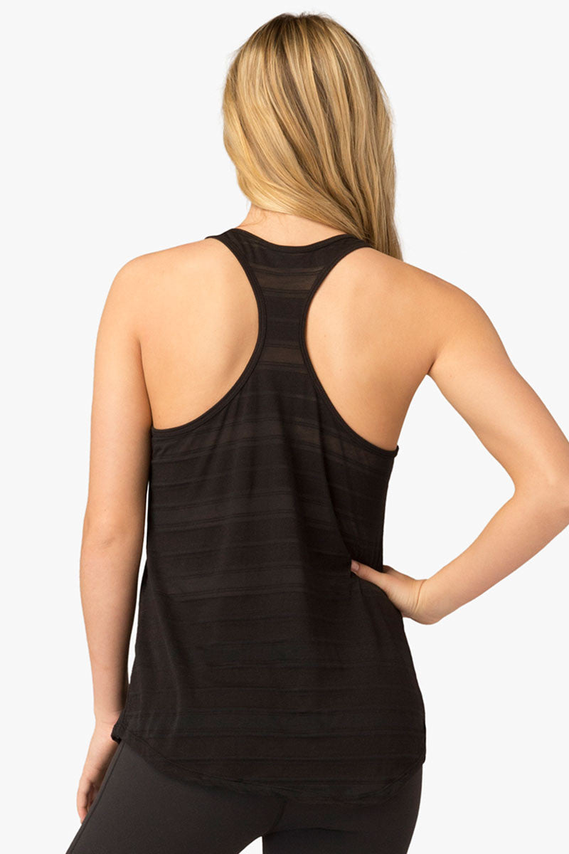 Beyond Yoga Easy Racer Tank - Black image 4 - The Sports Edit
