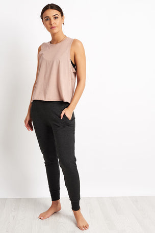 Beyond Yoga All About It Cropped Tank - Brazen Blush image 4 - The Sports Edit