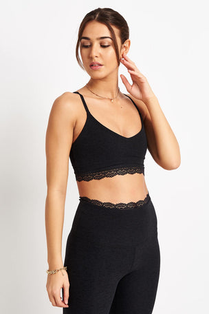 Beyond Yoga All Lace Bralet - Darkest Knight image 2 - The Sports Edit