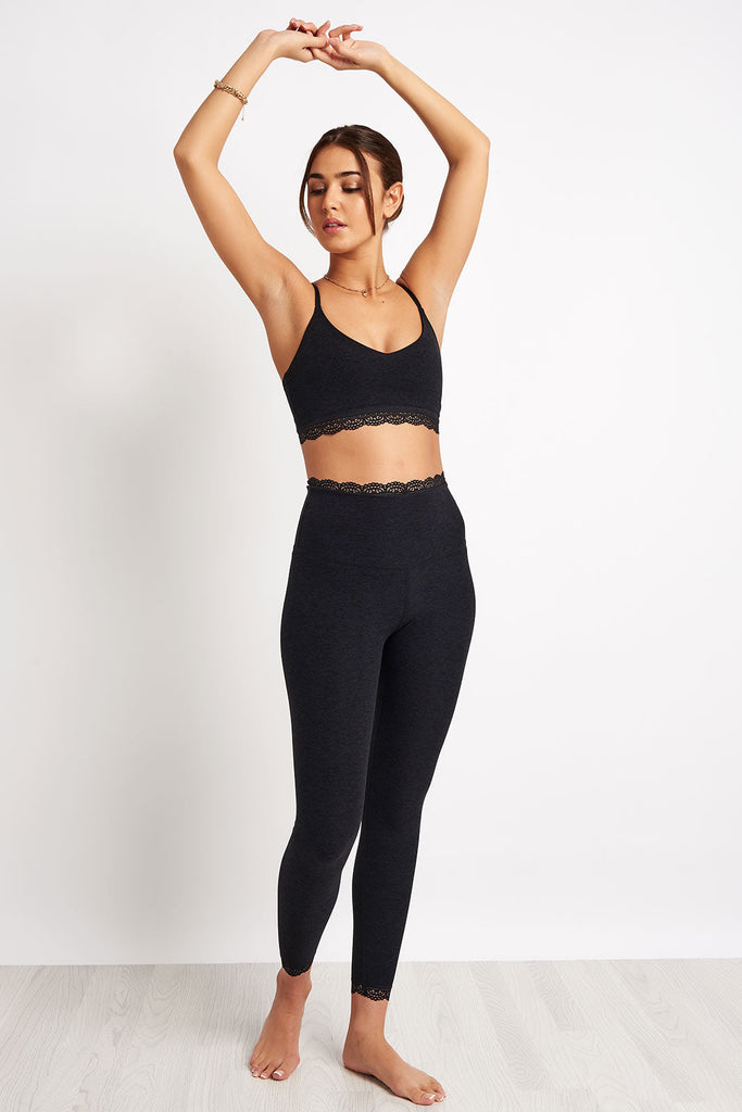 7d0a77879b Beyond Yoga All For Lace High Waisted Midi Legging - Darkest Knight image 4  - The