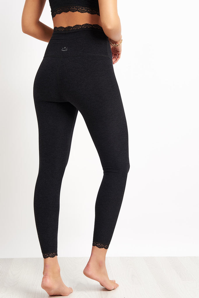 e90ede5f08 Beyond Yoga All For Lace High Waisted Midi Legging - Darkest Knight image 2  - The