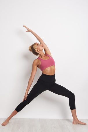 Beyond Yoga High Waisted Capri Legging - Jet Black image 4 - The Sports Edit