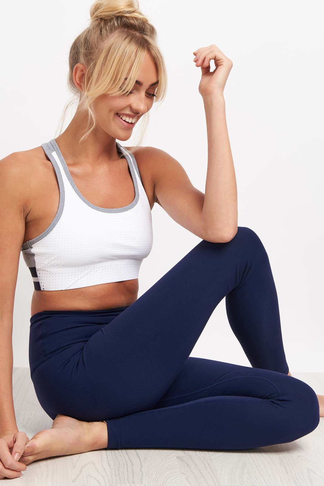 Beyond Yoga High Waist Legging - Valor Navy image 4 - The Sports Edit