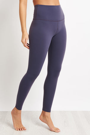 Beyond Yoga Caught In The Midi Legging - Deep Amethyst image 1 - The Sports Edit