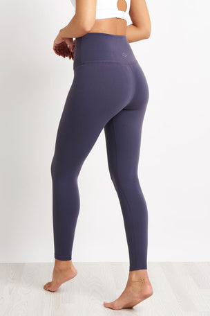 Beyond Yoga Caught In The Midi Legging - Deep Amethyst image 2 - The Sports Edit