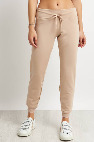 Beyond Yoga Lounge Around Jogger -Texas Taupe image 1 - The Sports Edit