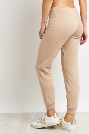 Beyond Yoga Lounge Around Jogger -Texas Taupe image 3 - The Sports Edit