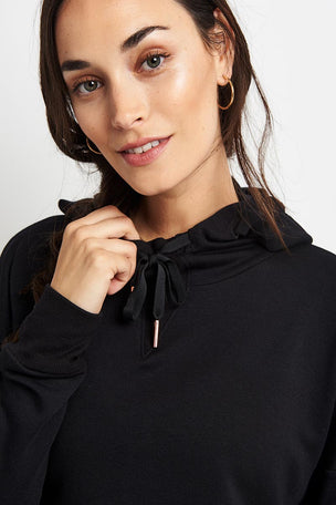 Beyond Yoga Sedona Cropped Hoodie - Black image 4 - The Sports Edit