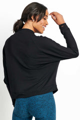Beyond Yoga Snap It Down Raglan Pullover image 2 - The Sports Edit
