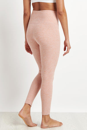 Beyond Yoga Caught In The Midi High Waist Legging - Pink image 2 - The Sports Edit