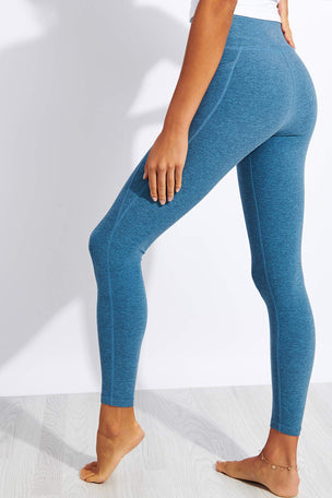 Beyond Yoga Spacedye Out Of Pocket High Waisted Midi Legging - Stormy Blue/Blue Cloud image 3 - The Sports Edit