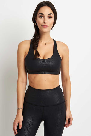 Beyond Yoga Viper Bra - Black image 2 - The Sports Edit