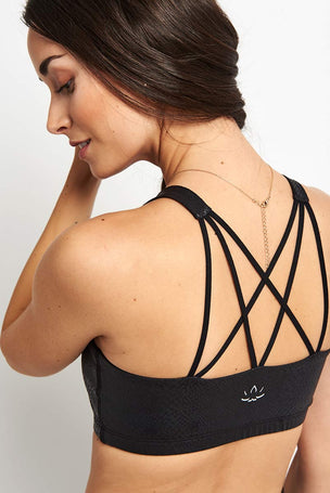 Beyond Yoga Viper Bra - Black image 1 - The Sports Edit