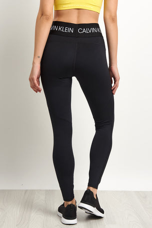 Calvin Klein Performance Sports Leggings - Black image 2 - The Sports Edit