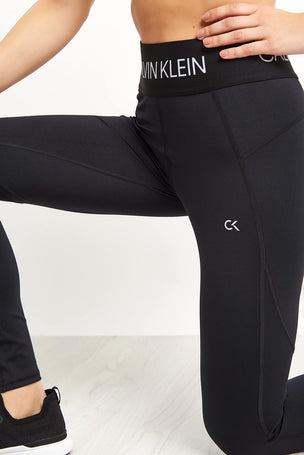 Calvin Klein Performance Sports Leggings - Black image 3 - The Sports Edit