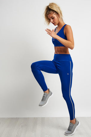 Calvin Klein Performance Full Length Butt Lift Leggings - Blue image 4 - The Sports Edit