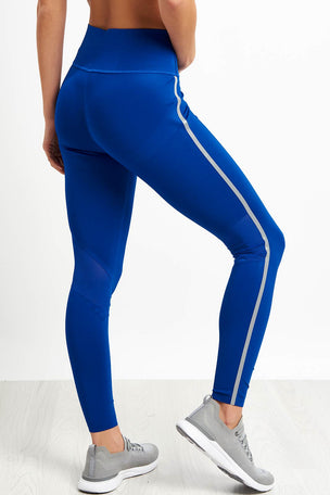 Calvin Klein Performance Full Length Butt Lift Leggings - Blue image 2 - The Sports Edit