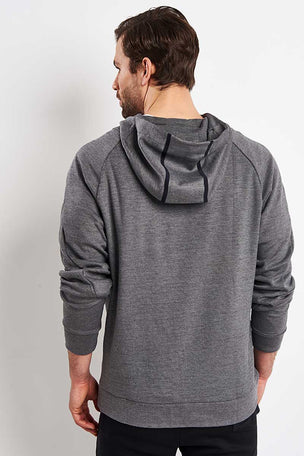 Calvin Klein Performance Zip Through Hoodie - Grey Heather image 2 - The Sports Edit