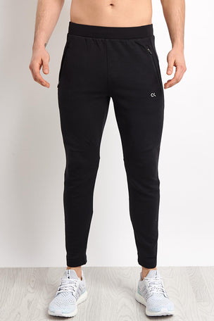 Calvin Klein Performance Knitted Pants - Black image 1 - The Sports Edit
