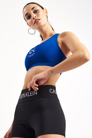 Calvin Klein Performance Racerback Logo Bra - Surf The Web image 2 - The Sports Edit