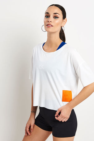 Calvin Klein Performance Short Sleeve Tee Bright White image 1 - The Sports Edit
