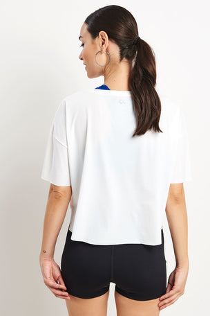 Calvin Klein Performance Short Sleeve Tee Bright White image 2 - The Sports Edit