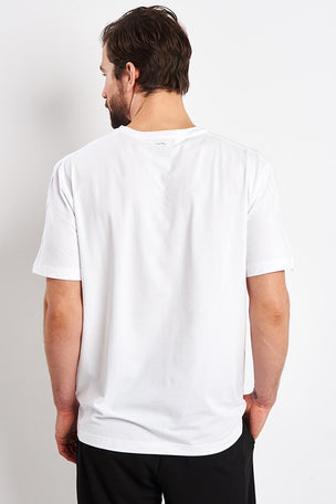 Calvin Klein Performance Logo Print T-shirt - White image 2 - The Sports Edit