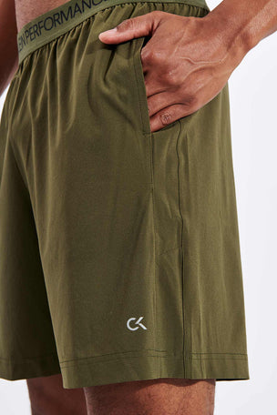 Calvin Klein Performance Gym Shorts - Grape Leaf image 4 - The Sports Edit