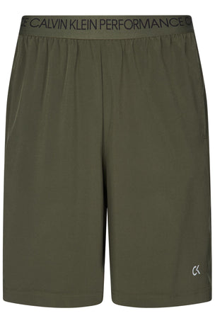 Calvin Klein Performance Gym Shorts - Grape Leaf image 5 - The Sports Edit