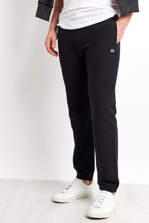 90d2718bce2c Champion Rib Cuff Sweat Pant - Black image 1 - The Sports Edit