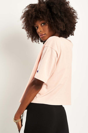 Champion Maxi t-shirt Pink image 2 - The Sports Edit