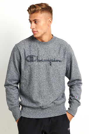 Champion Outline Script Logo Reverse Weave Sweatshirt image 1 - The Sports Edit