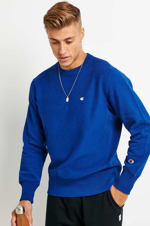 Champion Champion Reverse Weave Sweatshirt - Cobalt image 1 - The Sports Edit