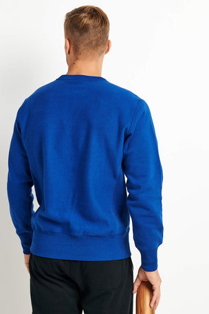 Champion Champion Reverse Weave Sweatshirt - Cobalt image 2 - The Sports Edit